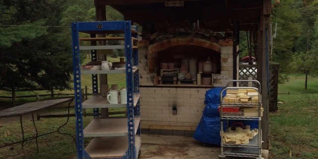 Kiln loaded and ready to go!